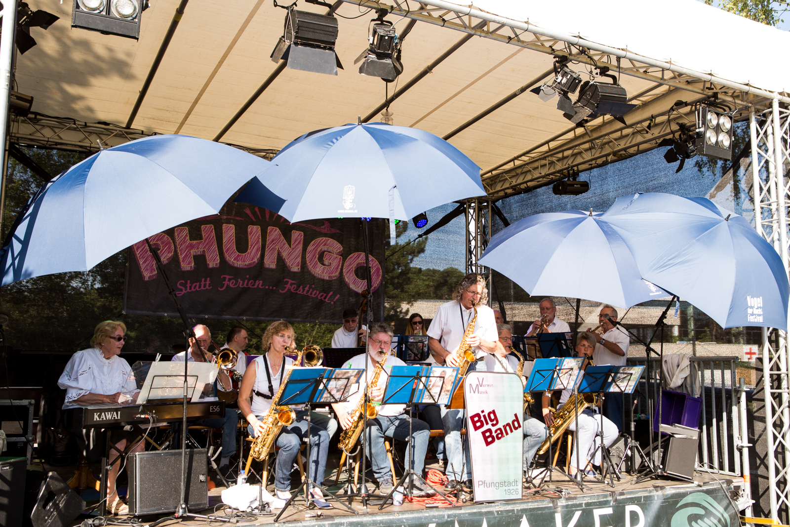 Phungo 2017, Switch in Time Big Band Pfungstadt, 13. Juli 2017